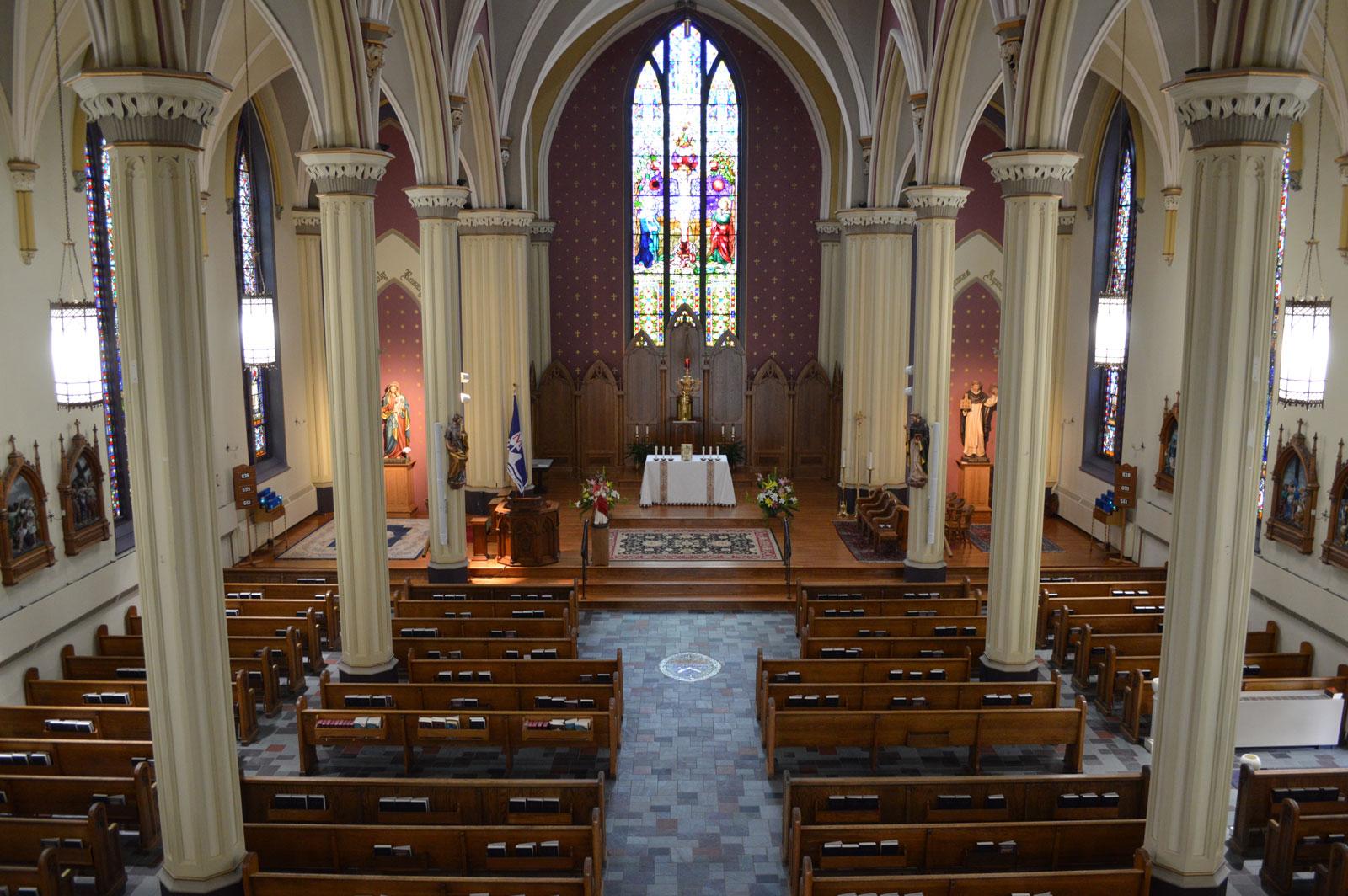 Saint Thomas Aquinas Zanesville   Church Photo Tour
